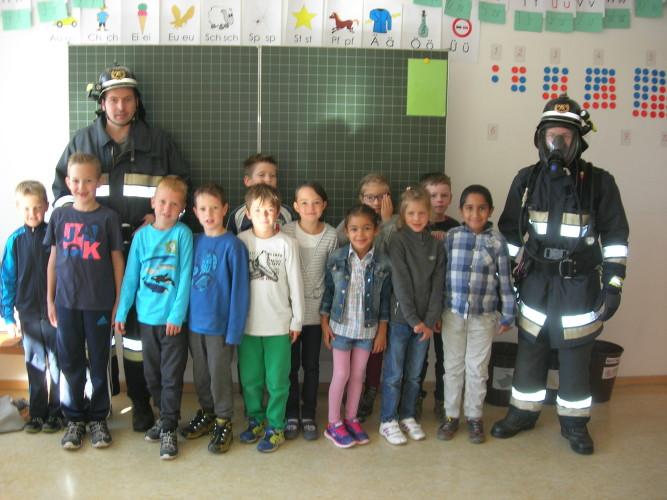 Feuerwehrtag an der Grundschule Mals