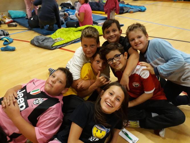 Aufregende Nächte in der Grundschule Mals