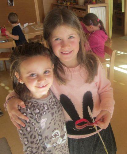 Tolle Kooperation Kindergarten - Grundschule