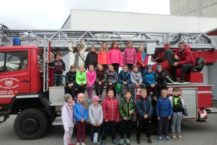 Ein Besuch bei der Feuerwehr