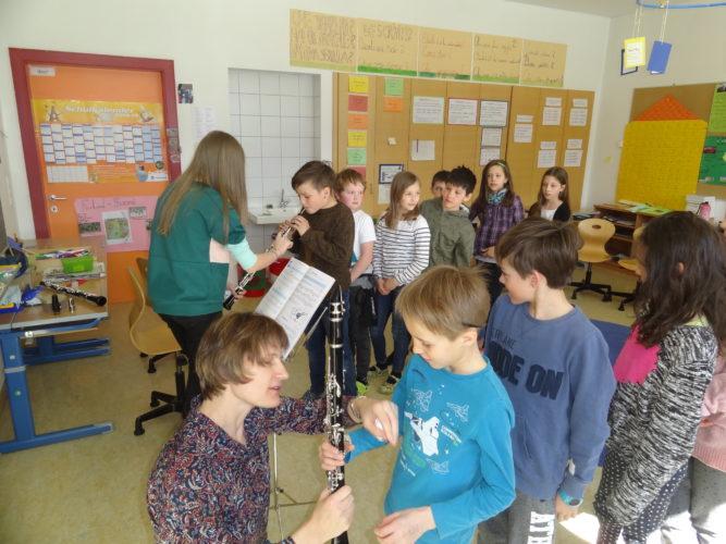 Vorstellung der Musikinstrumente